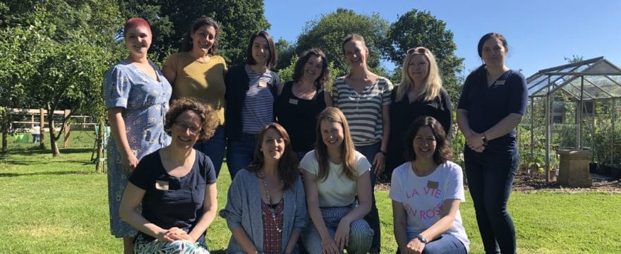 Photo of our birthworker writers' group